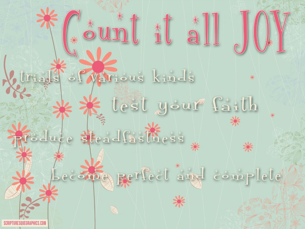 Count It All Joy?