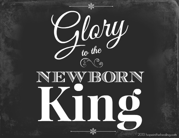 Glory to God in the Highest Archives - Hope In The Healing With ...