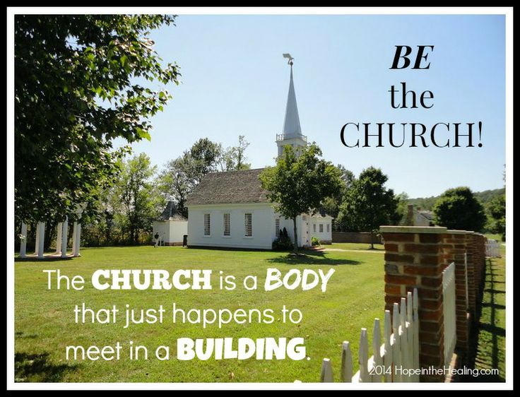 the church is a body