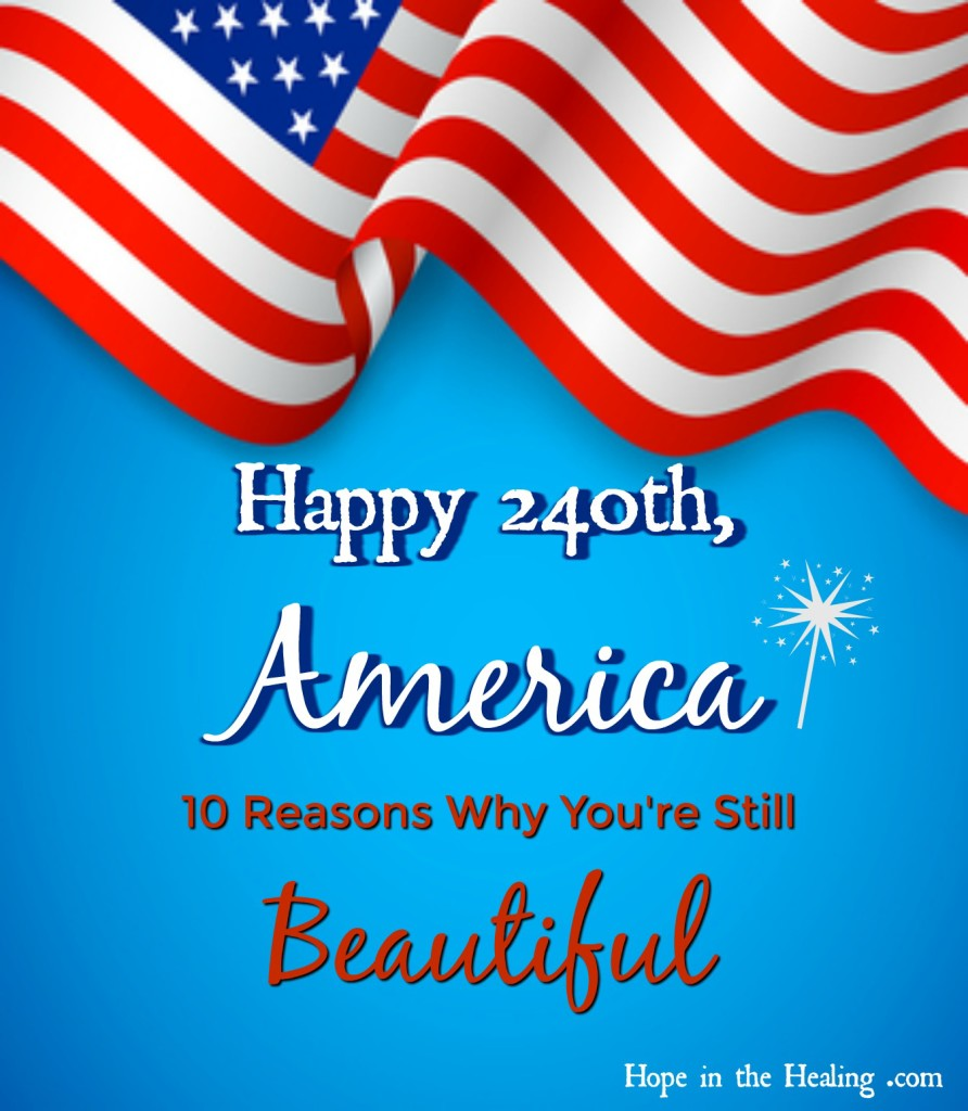 Happy 240th America